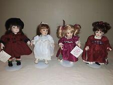 "New ListingMarie Osmond Tiny Tot Porcelain Doll Lot 8"" Standing"