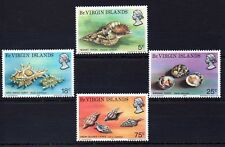 British Virgin Isles 1974 Sea Shells MNH set