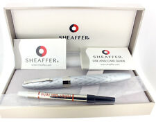 SHEAFFER LEGACY 2 EMPEROR'S SILVER  SWEEPING HOURGLASS ROLLERBALL PEN NEW IN BOX