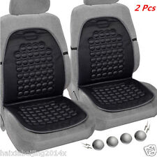 2x Auto Car Seat Cushion Therapy Massage Padded Bubble Foam Chair Pad Cover BK
