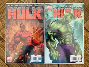 Hulk #6 & #7 Michael Turner Variant Covers Red Hulk N/R