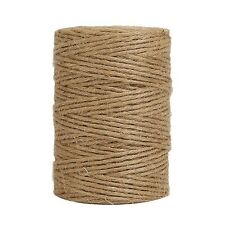 Tenn Well 300Feet Natural Jute Twine 6 Ply Arts and Crafts Jute Rope Industri.