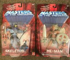 Motu Super 7 Vintage Masters of The Universe HE-MAN SKELETOR Figure Lot