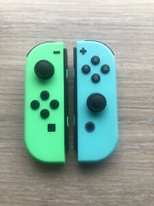 Animal Crossing Edition Official Nintendo Switch Joy-Cons - Brand New
