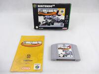 Nintendo 64 N64 F1 World Grand Prix Boxed PAL