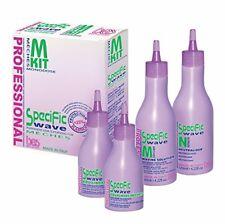 BES KIT Soluzione Permanente Ondulante per Capelli con Meches 120+120+40+40 ml