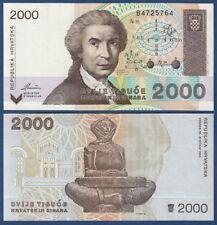 KROATIEN / CROATIA 2000 Dinara 1992  UNC  P.23