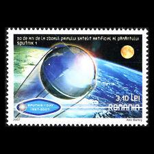Romania 2007 - 50th Anniversary of the Sputnik 1 Satellite Space - Sc 4999 MNH