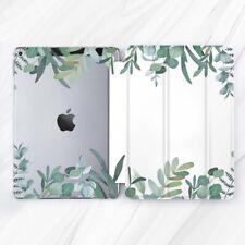 Eucalyptus Leaf Nature Green Case For iPad 10.2 Air 3 Pro 9.7 10.5 12.9 Mini 4 5