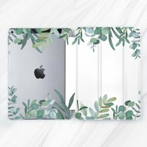 Eucalyptus Leaf Nature Green Case For iPad 10.2 Air 3 Pro 9.7 10.5 12.9 Mini 4 5