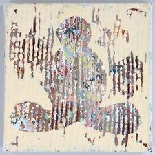 Yong Jo Ji (Sag Harbor NY, E. Hampton NY, Korea) A/C Abstract Painting #8 Buddha