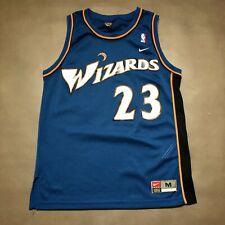 100% Authentic Michael Jordan Wizards Nike Swingman Jersey Size M 40 Mens