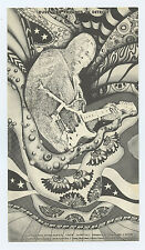 Grande Ballroom Postcard 1968 Nov 8 Buddy Guy Charging Rhinocerous of Soul