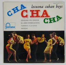 "Lecuona Cuban Boys French 7"" EP Pinchame con Tenedor FONTANA Cha Cha Cha"