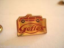 PINS RARE AUTO CAR VOITURE GOFLEX PRODUIT ELECTRONIC