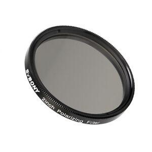 SVBONY 2inch Polarizing Filter Anodized Aluminum Optical-Glass planetary filters