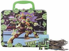 TEENAGE MUTANT NINJA TURTLES 48 PIECE PUZZLE WITH CARRYING CASE/LUNCH BOX NIP