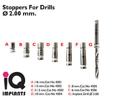 Drill Stoppers 2mm. Dental Implant - implants.Surgery