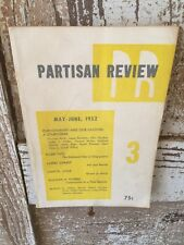 Partisan Review Vol. XIX No.3 May-June 1952 Literary Journal - Allen Tate!
