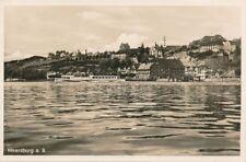 AK, Foto, Meersburg - Blick vom Wasser, 1937; 5026-107