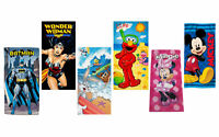 Disney Marvel DC Looney Tunes Sesame Street Beach Bath Gym Kids Adult Towel