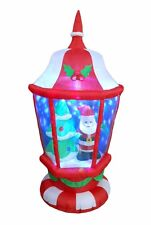 6 Foot Christmas Inflatable Lantern & Santa Claus X'mas tree Outdoor Decoration