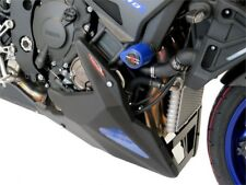 Yamaha MT-10  16-2018  Belly Pan Gloss Black with Blue Mesh by Powerbronze