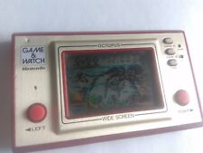 Octopus Wide Screen Nintendo Game & Watch