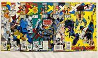 X-FORCE #6 #16 #17 #18 #21 #29 #34 LOT SET RUN MARVEL1991 ROB LIEFELD