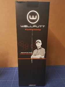Wellputt High Speed 4m Golf Matte Putting Trainer 4mx50cm
