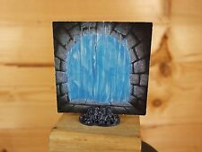 HEROQUEST WIZARDS OF MORCAR ICE WALL CARD PLUS STAND (2936)
