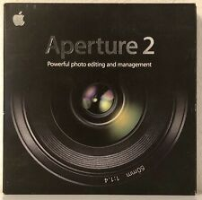 APERTURE 2 Apple Mac Photo Image Editing Management CD Like New