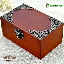 CLASSIC Rectangle jewelry Music Box :  GREENSLEEVES