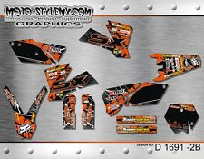 KTM graphics decals kit SX SXf 125 250 450 525 2003 up to 2004 Moto-StyleMX