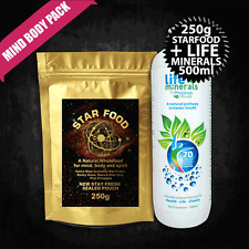 Star Food with Monatomic Gold + Life Minerals, Ormus, MUFKUTZ, M State Superfood