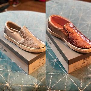 Ella Kiri Women's Glitter Pumps Shoes Flats Slip On