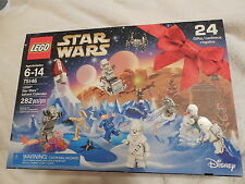 2016 LEGO Star Wars Advent Calendar 75146 with White Chewbacca NEW Sealed 282pc