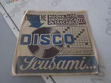 Vinile disco 45 giri Nuova Enigmistica Tascabile Solo copertina custodia disco