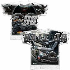 DALE EARNHARDT JR #88 BATMAN TOTAL PRINT WHITE SHIRT SIZE M BRAND NEW!!!!!!