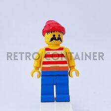 LEGO Minifigures - 1x pi043 - Pirate - Pirati Omino Minifig Set 1481 6276 6251