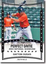 (12) DAYTON DUGAS 2014 Leaf *PERFECT GAME*  Baseball Rookie RC LOT