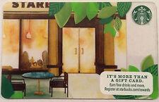 Starbucks Front Door Gift Card 2015 New No Value