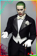 FIRE A005 1/6th Joker Jared Leto Tuxedo Clothing Suits & Head Carved Model Toy
