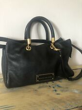 Marc By Marc Jacobs Black Leather Hand/shouder Bag RRP £435