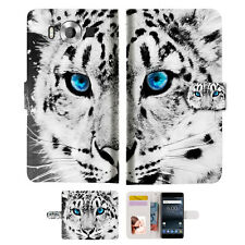 Leopard Wallet Case Cover For Nokia 6 2018 -- A013