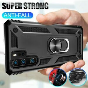 Shockproof Armor Phone Case Magnetic Ring Stand Cover For Huawei P30 Pro Lite