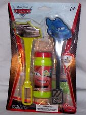 Cars Dip N Fun Bubble Set Bubbles with 2 deluxe wands toy new Birthday favor