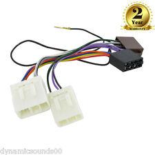 Ct20mz01 Mazda 121 (1991-1996) auto estéreo RADIO arnés de cableado Adaptador ISO Telar