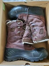 Kamik Men's Dark Brown Boots Brun Fonce Size 12