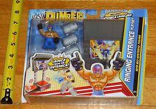 2011 WWE WWF Mattel Rey Mysterio Rumblers Ring Entrance Wrestling Figure MIP